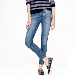 J. Crew Toothpick Mid-Rise Skinny Jeans